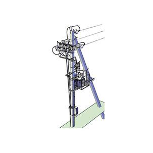 Комплектна стовпова трансформаторна підстанція КТПс 1,25…250/10(6)/0,4